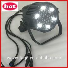 WLP-15-1 54pcs rgbw 3w led waterproof led par can dmx led par 64 bulb