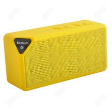 Mini Jambox Style X3 Bluetooth Speaker With Mic Wireless Bluetooth Speaker Mini Speaker FM Radio