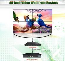 46 inch 2x2 LCD video wall ; professional seamless video wall (RCS-460W)