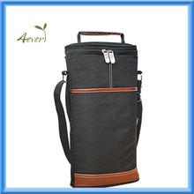 Wine Travel Carrier & Cooler Bag - Chills 2 bottles of wine or champagne