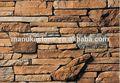 Artificial decorativa da parede de pedra, paisagismo pedra ardósia, imitar pedra real