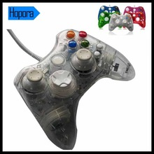 Afterglow Transparent Wired Controller with Led Light for Microsoft Xbox 360 Games Console