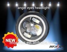engine automobiles car accessory 7inch LED Round Angel Eyes Headlights tuning light