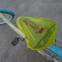 Custom Logo Plastic Bicycle Seat Covers
