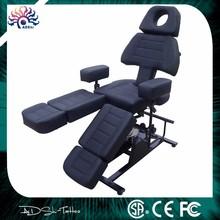 De alta calidad profesional del tatuaje adjustble& silla cama del tatuaje