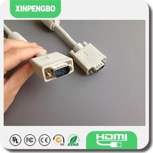 Computer VGA Cable Color Code HD 15Pin