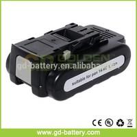 cordless tool battery for Panasonic 14.4V li-ion EY9L40B 2.0Ah battery