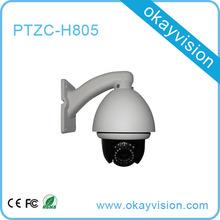 Popular excellent image Vandalproof & Indoor Built-in full-screen OSD zoom ptz camera installed easily.