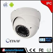 Vandal-Proof 90ft (30 meter) Night vision in completed Darkness, Mega HD 1080P ip cameras