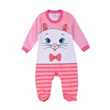 cute cat baby rompers legged long sleeves baby clothing newborn cartoon jumper baby girl clothes free shipping roupas
