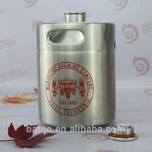 2L stainless steel beer bottle tuborg beer
