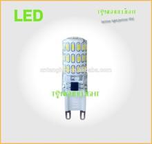 New 4.5W silicon G9 led lamp, high lumen G9 led lamp