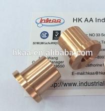 customized steel flanged brass bushing
