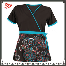Custom design pattern medical scrub suits uniforme hospital