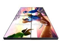 46 inch ultra narrow bezel LCD video wall ; professional seamless exhibition video wall (RCS-460W)