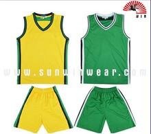fashion custom color green jersey basketball