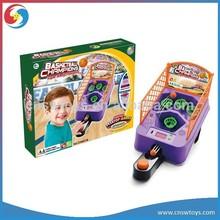 YX2804826 Kids mini light and musical electronic table basketball game