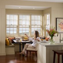 35'' Basswood Blinds For Your Warmly Home