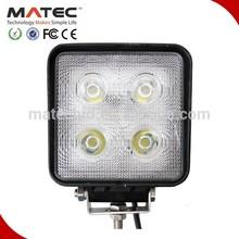 Professional IP68 40W led work light 12v off road led work light