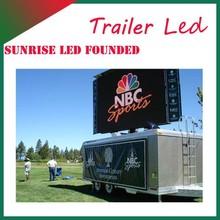Sunrise Advertising vehicle mobile publicity van