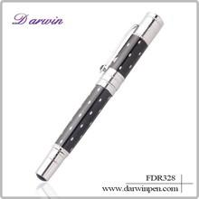 Darwin pen, Deep Black, German Nib roller Pen
