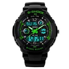 Christmas Promotion Gift Wristwatch, Anti-Shock Waterproof Fashion Men Sports Watches