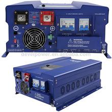 Dc to Ac inverter 48v 220v pure sinewave inverter with MPPT charge control