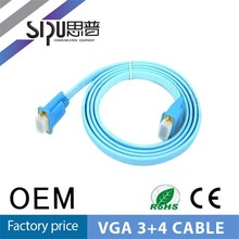 SIPU high quality male vga cable resolution