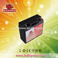 Sealed lead acid rechargeable battery 12v 15ah 20hr