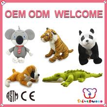 ICTI Factory high quality stuffed promotion zebra stuffed animals