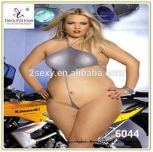 hot sale nude plus size fat women sexy teddy lingerie