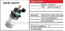 fuel pump for GOLF ,JETTA , 191906091J , 0580254008 , 0580 254 008