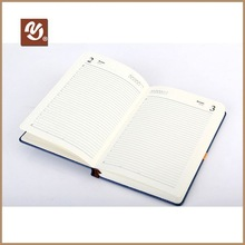 2014 Hot Chinese Style Environmental Leather Diary 2012