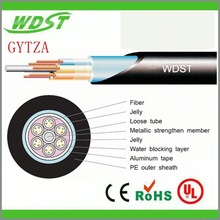 GYTZA small diameter loose tube fiber optic cable GYFXY air blown fiber