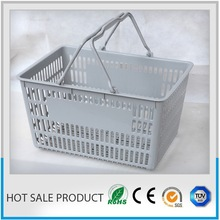 supermarket basket hand