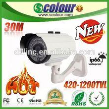 Low illumination Weatherproof IP66 cctv microphone