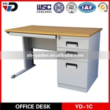 Modern style metal frame office desk, Europ style executive table for Germany market