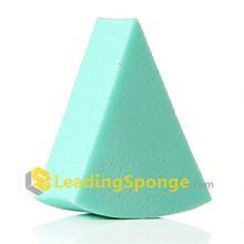 lollipop style cosmetic sponge white