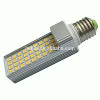 PL SMD 5050 led lamp 120 degeree AC85-265V 7W G24 E27 Led Lighting