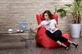 lounge beanbag cadeira do salão