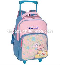 wheeled schoo trolley bag backpack for children