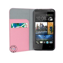 high quality stand cover case for HTC Desire 310 pouch cover case for HTC Desire 310 case ,pink