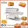 en acier inoxydable haute capacité continue snack friture machine