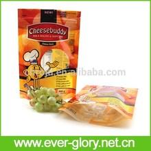 Food Grade Safe Material Laminated Plastic Zip Lcok Animal Food Bag Bird Food Bags