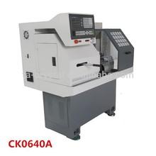 precision cnc mini lathe machine CK0640A