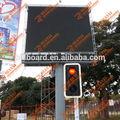Publicidad al aire libre a todo color pantalla led cartelera/señalización led billboard publicidad
