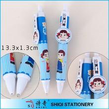 Plastic custom cartoon pen