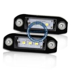 Led license plate light lamp 3 smd for VOLVO S80 V70 XC70 V50 C70 S60 XC60 V60 S40 XC90 2003-2014