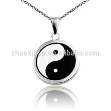 fashion factory price Chinese jewelry taiJi Ying&Yang pendants
