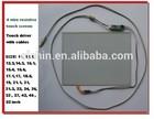 PC, laptop 15.1,15.4,15.6,17,17.1,18.5,19,20,21,21.3,22,24,26,32,37,42,46,52 inch flexible touch screen